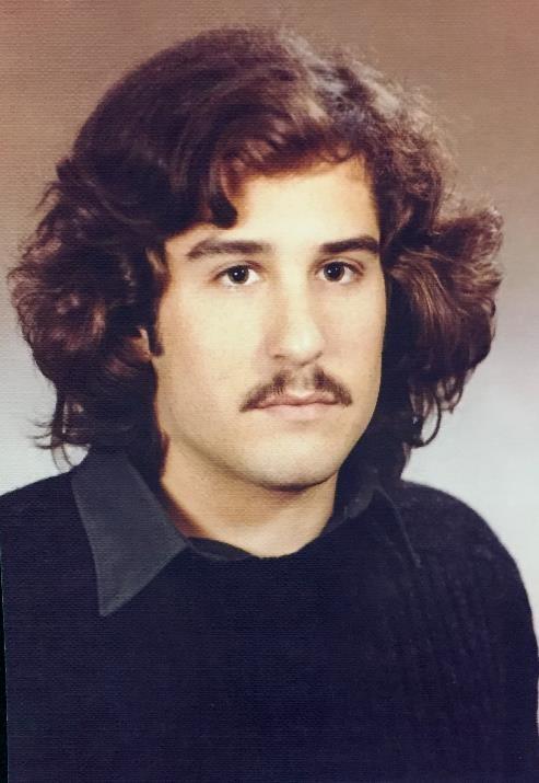College photo of Steve Rothman 1971