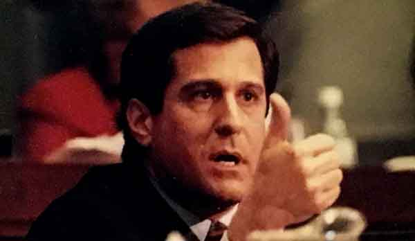 Congressman Rothman making argument in the House Judiciary Committee during the Clinton Impeachment Hearing, December 1998
