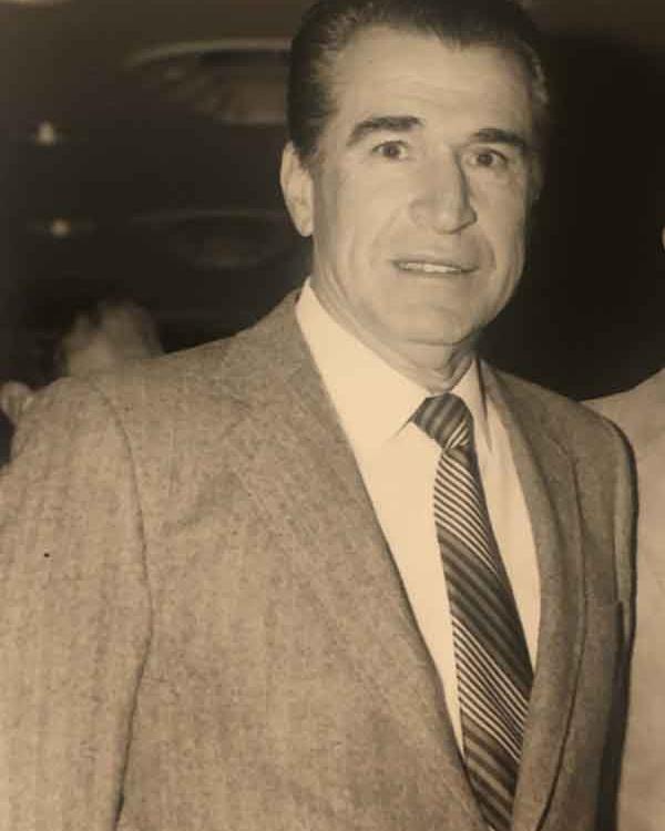Steve Rothman's father, Philip Rothman, c. 1984