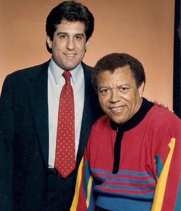 Steve Rothman with mentor Richard Sheffield, c. 1985